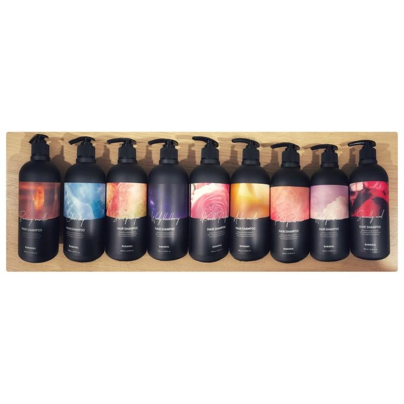 🔥韓國人氣洗髮精🔥BANANAL胺基酸香氛洗髮精 500ml罐裝