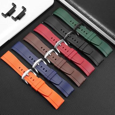 【货到付款】代用卡西歐G-SHOCK橡膠手錶帶GA110 120 400 700 2100改裝配件