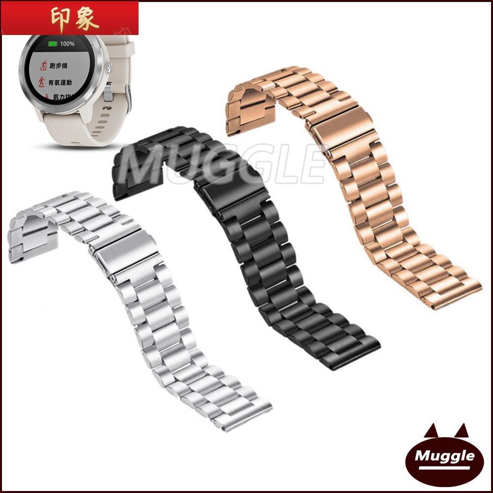 『免運現貨』【送工具】Garmin Vivolife悠遊卡智慧手錶金屬錶帶 不鏽鋼錶帶 佳明 Vivolife