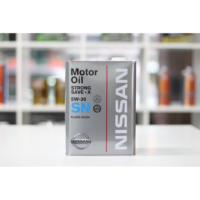 [ 樂油油 ]日本原廠 NISSAN 5W30 SN 合成機油 4L