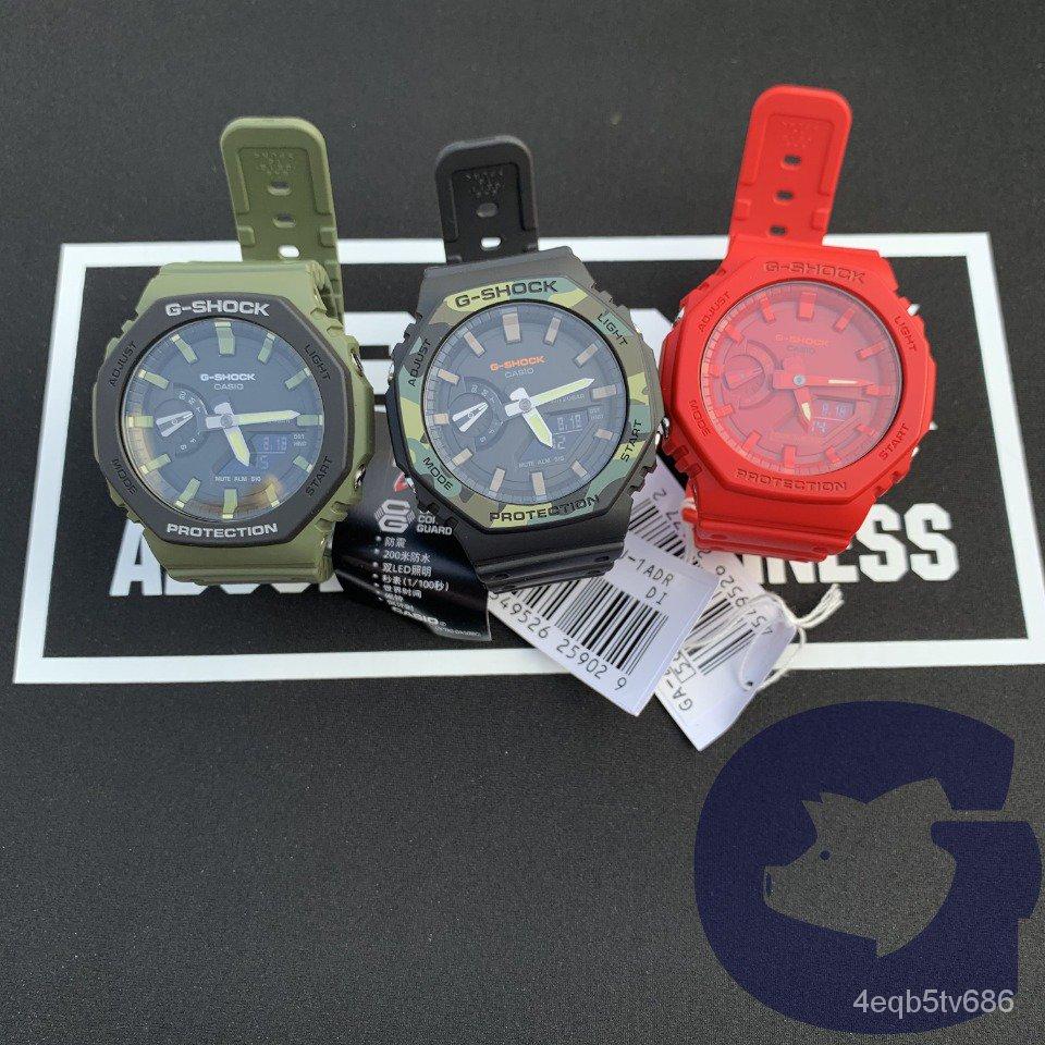卡西歐手錶G-SHOCK GA-2100-1A/4A/3A 電子男士腕錶 wtvT