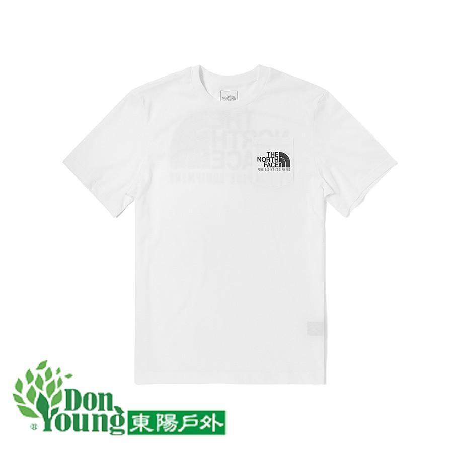 【THE NORTH FACE】北臉2021春夏新款男款短袖T恤 經典潮流 時尚搶眼 4U9L