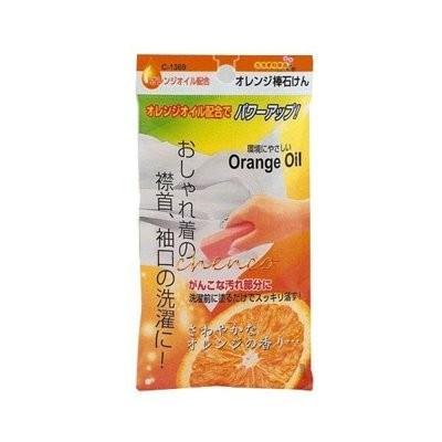 【玩具倉庫】《日本 不動化學》橘子衣領去污棒 (100g)→清潔棒 去污條 Orange Oil 橘油強效去污皂 棒狀