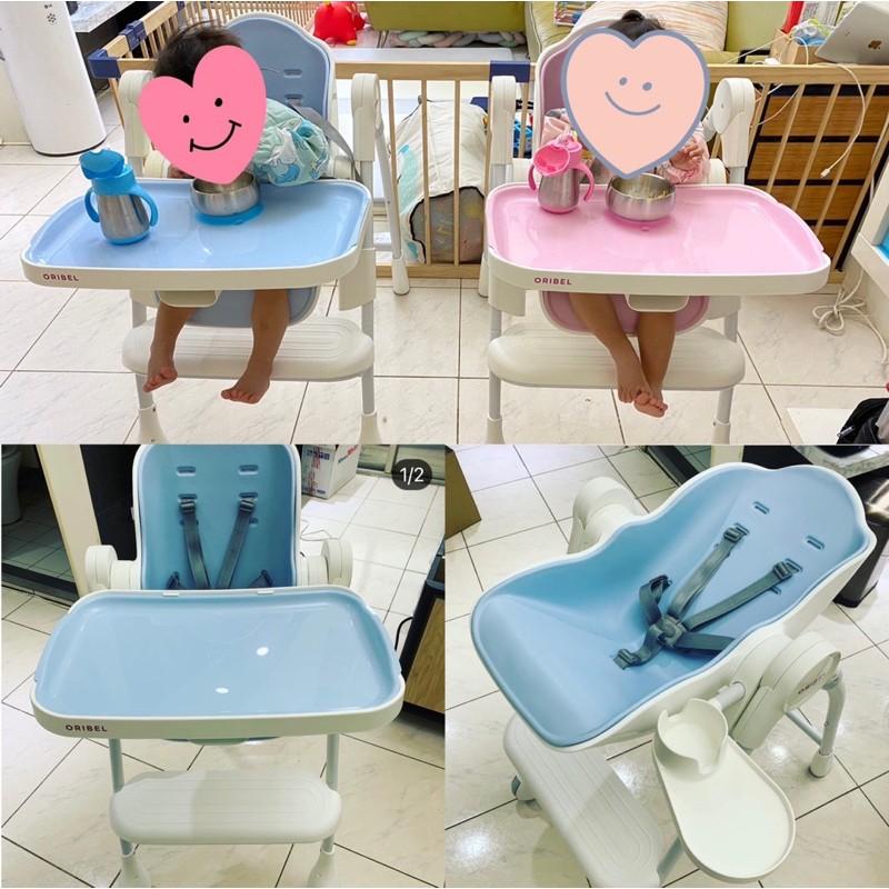 二手oribel 成長型高腳餐椅(含坐墊)-暫售