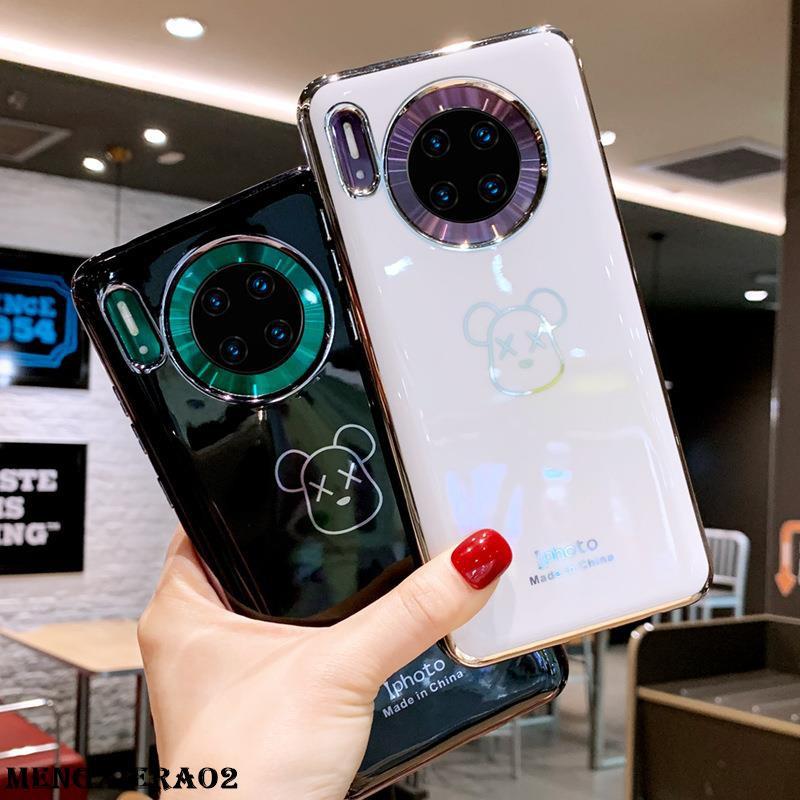 華為mate30pro手機殼卡通適用5g版高檔女款網紅新mate30軟