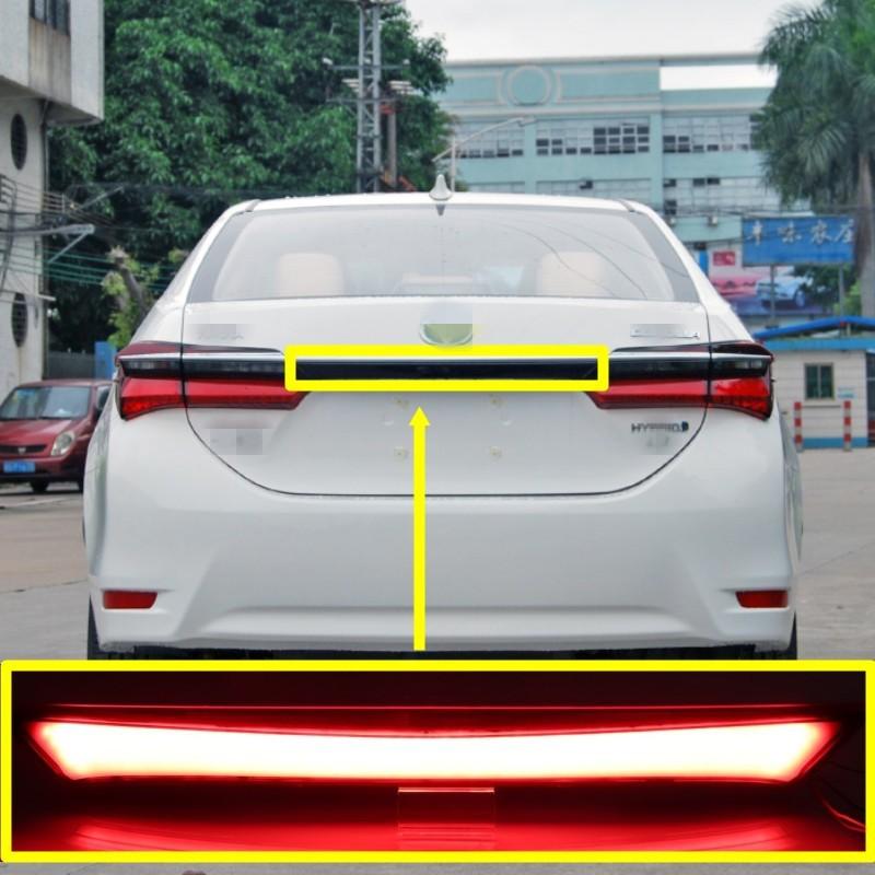 豐田 ALTIS 11代 11.5代 2014-18年款 後尾燈 貫穿燈 煞車燈 流水燈 杠燈 LED車燈 改裝
