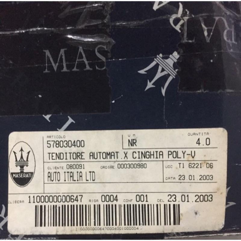 Maserati 3200gt 3200  料號578030400 引擎零件