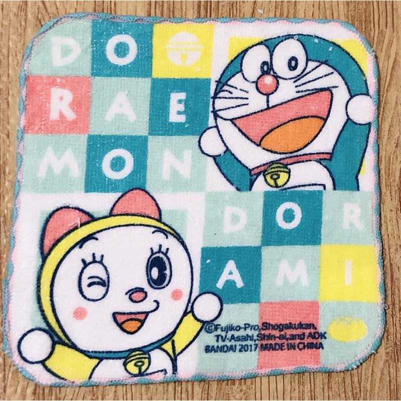 哆啦a夢 方巾手帕 毛巾 16*16cm