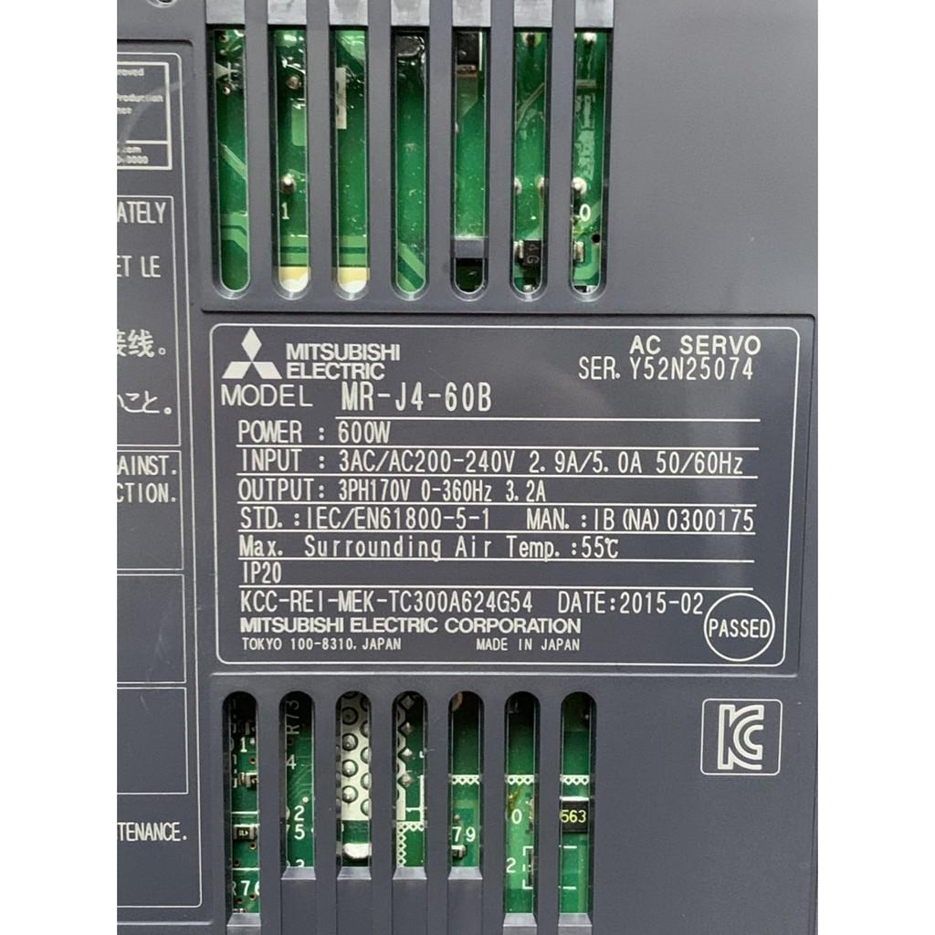 三菱伺服驅動器銷售-MR-J4-60B、MR-J4-70B(中古良品)