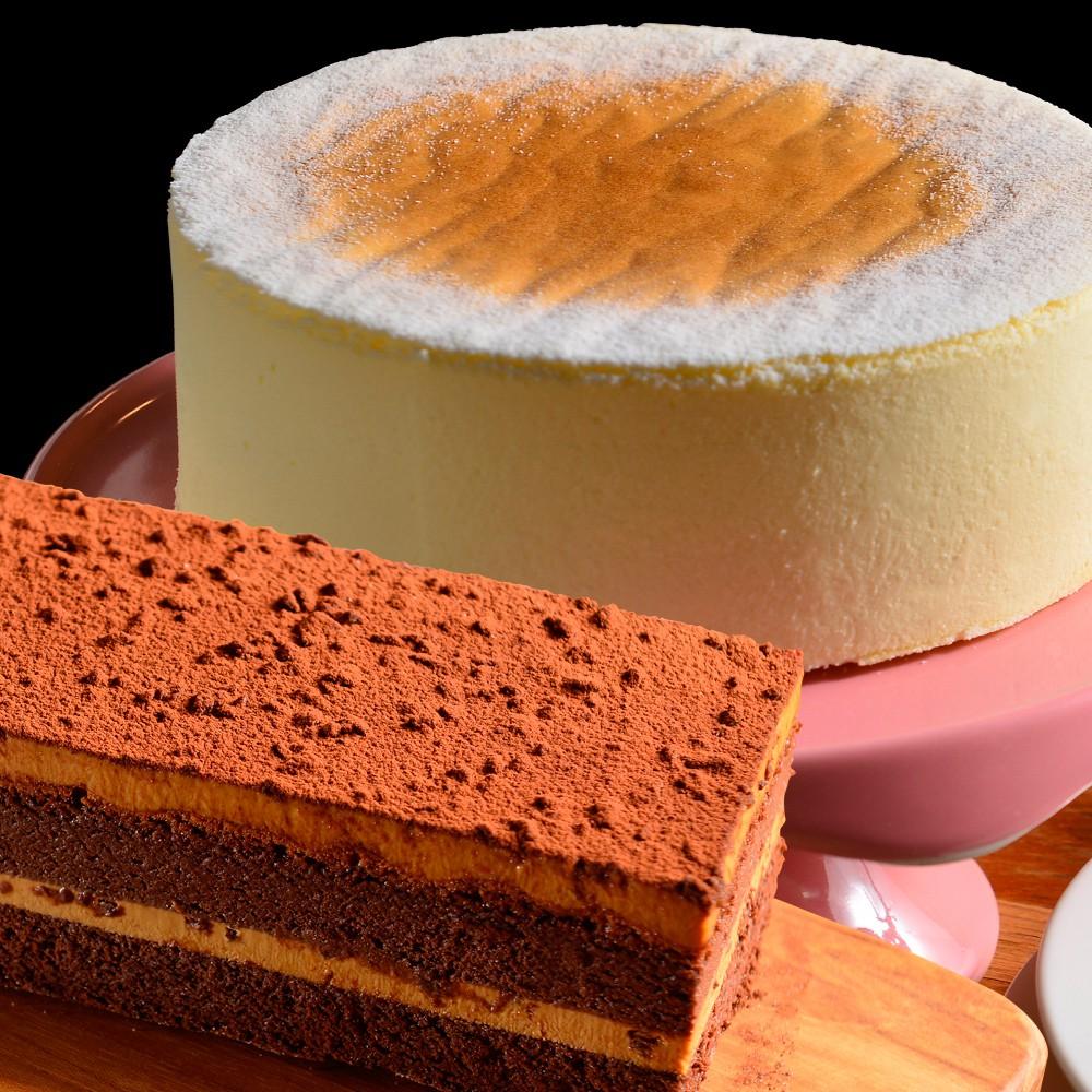 《the secret cake 法國的秘密甜點》卡斯特洛藍起士+鹽之花焦糖巧克力 兩入組