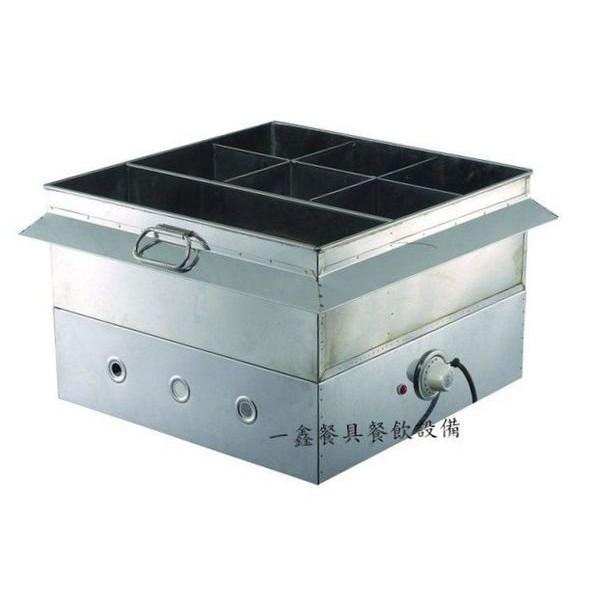 一鑫餐具 【溫控黑輪桶】電力式關東煮桶加底黑輪桶保溫桶插電關東煮