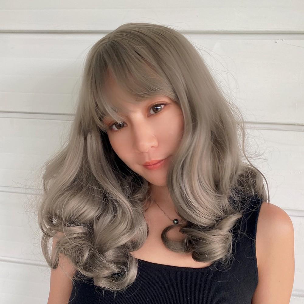 全頂假髮 蓬鬆捲髮 修飾小臉 D9118 魔髮樂