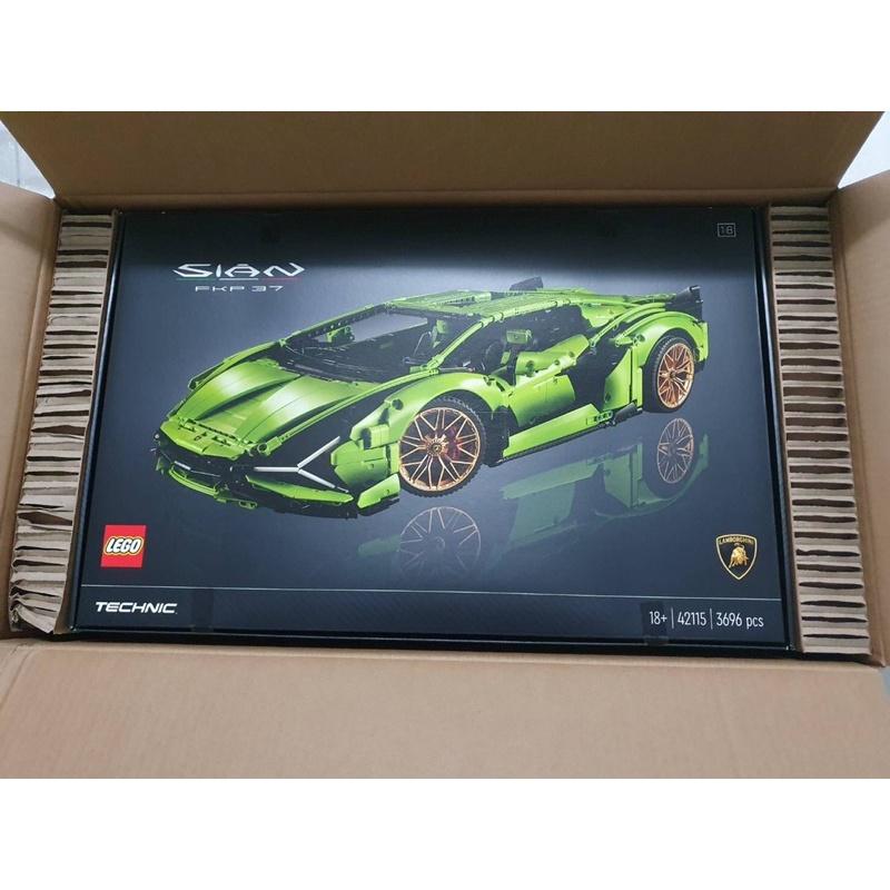 全新LEGO樂高 42115 藍寶堅尼 Lamborghini Sian FKP37