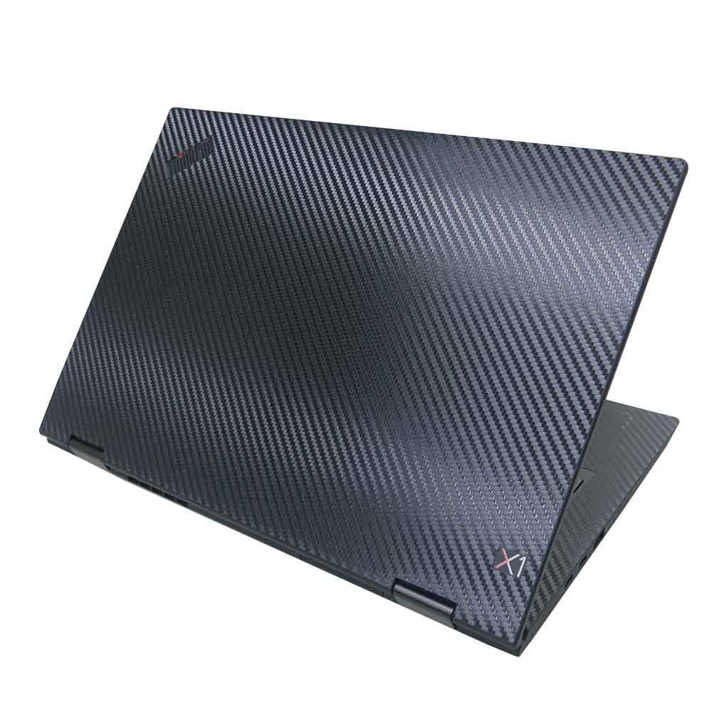 【Ezstick】Lenovo ThinkPad X1 YOGA 3代 Carbon黑色立體紋機身貼 DIY包膜
