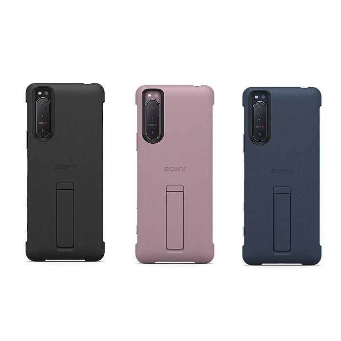 索尼 SONY Xperia 5 II 原廠可立式時尚保護殼 背蓋 公司貨 全新未拆 手機殼 手機套 保護套 手機支架