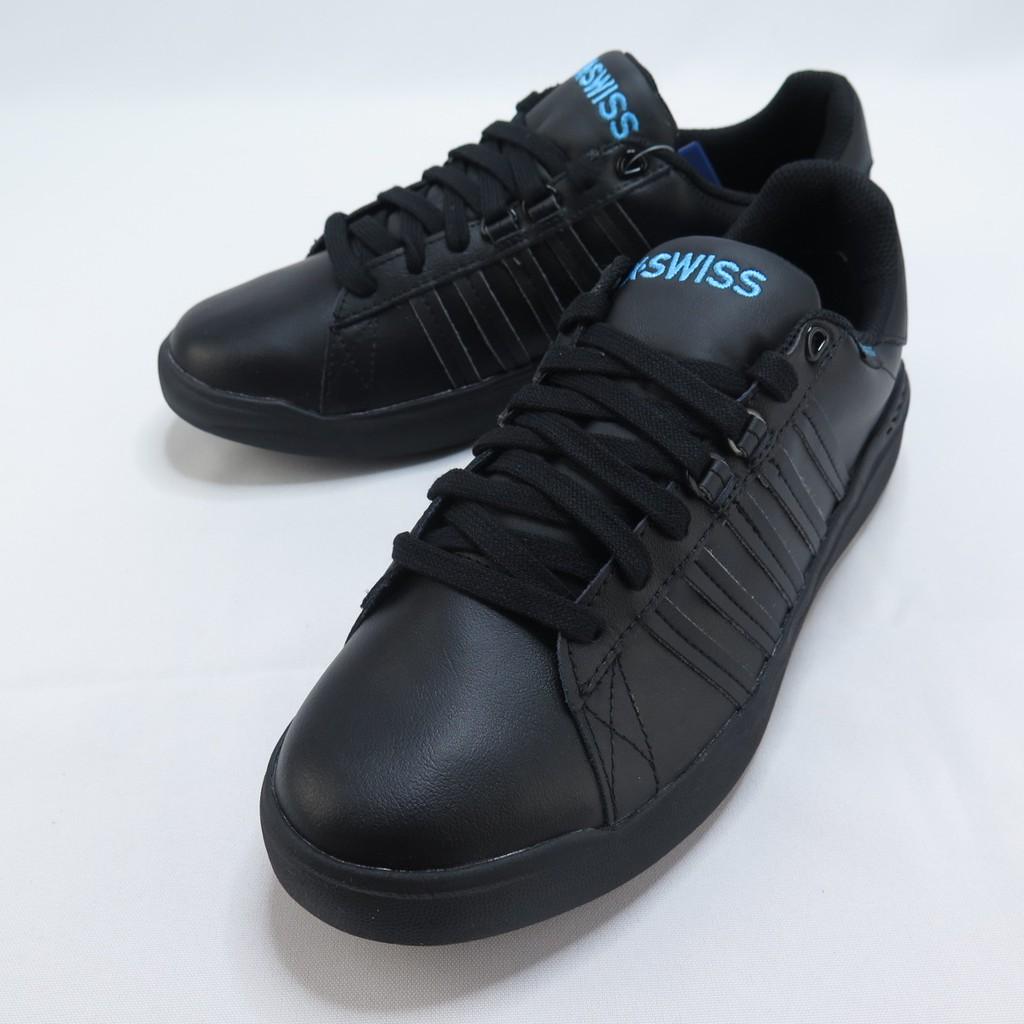 K-SWISS PERSHING COURT LIGHT 防潑水男款休閒鞋 06387001 全黑【iSport愛運動】