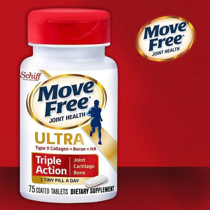 ㊣現貨快出㊣ 美國Schiff Move Free Ultra 益節加強型迷你錠 (75錠)