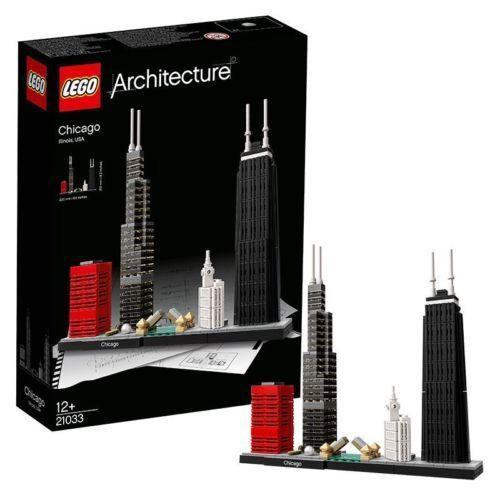 LEGO 樂高 世界經典建築系列 21033 Chicago 芝加哥 全新未拆