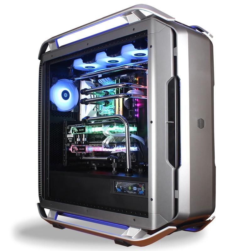 定制i9 10900K RTX3080 3090 高端DIY主機游戲分體水冷臺式電腦#東金靚淘運動