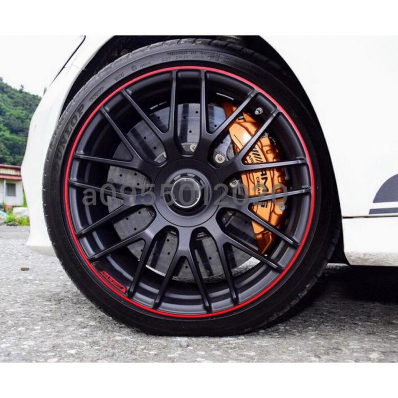 全新類BENZ C63 AMG限量紅圈5孔112 19吋鋁圈W204/W205/W212/W213/W117/W176