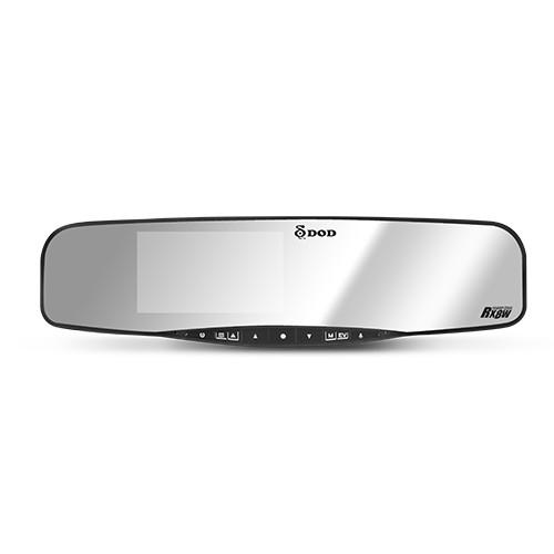 【DOD】RX8W GPS 後視鏡型行車記錄器 FULL HD 1080P 4.3吋大螢幕 6G全玻璃鏡頭 雷雕背光按鍵