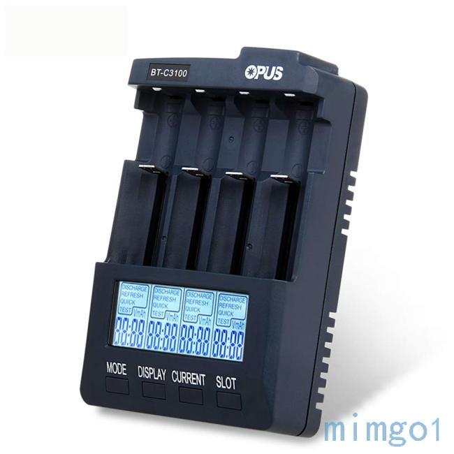 OPUS BT-C3100 v2.2 智能4槽充電器 BC3100充電器