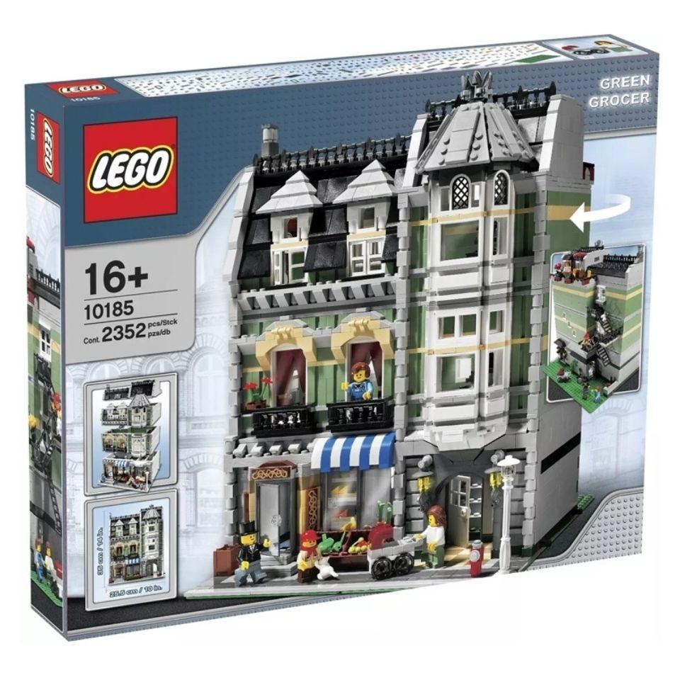 好玩【】樂高LEGO10182轉角咖啡店10185綠色雜貨鋪10490歐洲市場