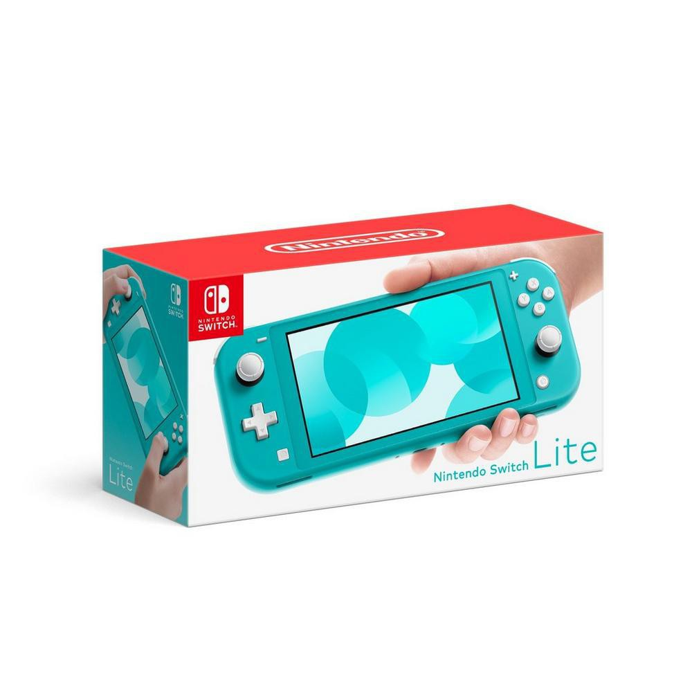 【Nintendo Switch 主機】Switch Lite 藍綠色 (台灣公司貨)