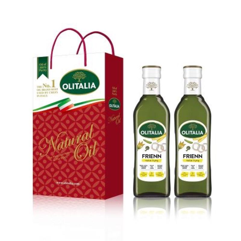 免運❤️ 奧利塔高溫專用葵花油500毫升*6罐 (禮盒組)
