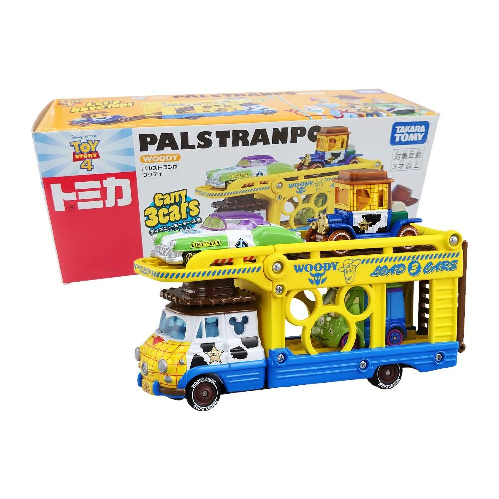 【TOMICA】多美小汽車 迪士尼 玩具總動員 胡迪 小汽車運輸車