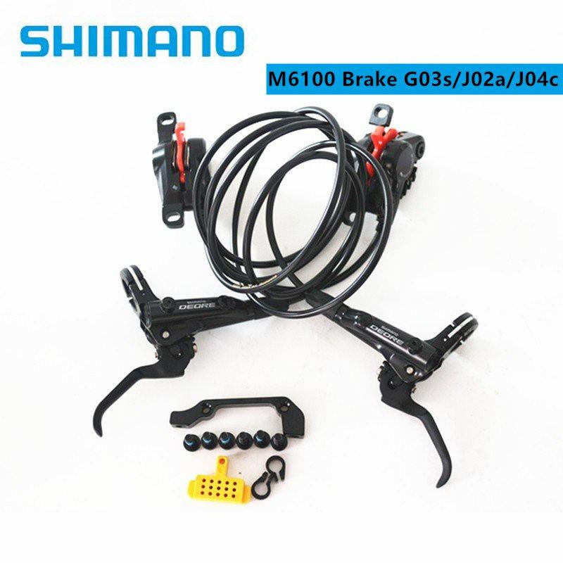 Fast delivery SHIMANO DEORE M6000 M6100 2 piston M6120 4 pis
