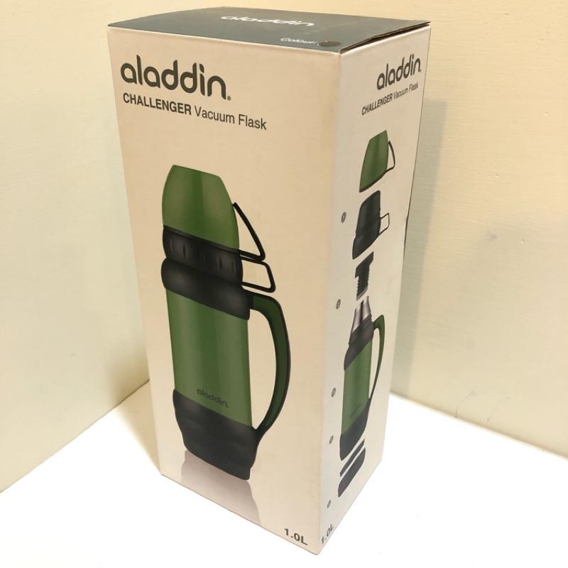 美國🇺🇸aladdin CHALLENGER Vacuum Flask 黑 大容量保溫杯(實拍)