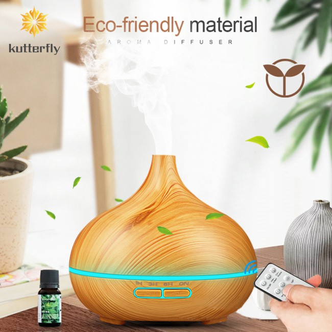 kutterfly 創意深淺木紋香薰機 傢用靜音臥室大容量香薰機