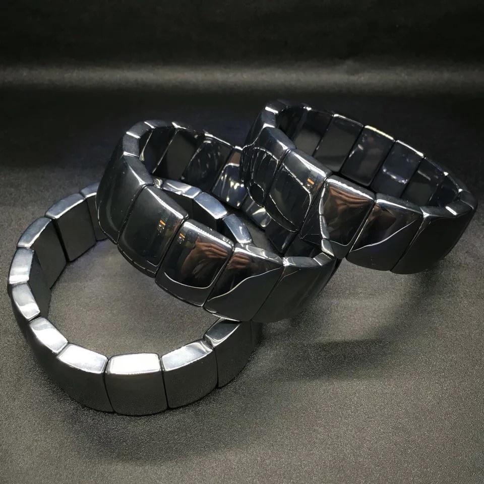《台灣發貨》天然太赫茲手排 鈦赫茲手鍊男士女款手鏈串鈦赫茲核磁手牌風靡日本時尚首飾品