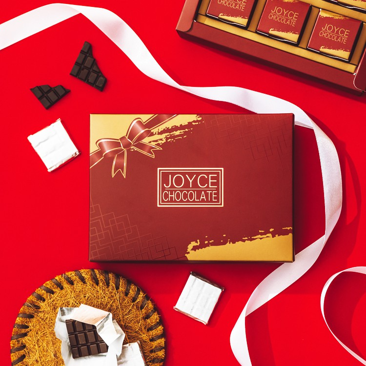 Joyce Chocolate 92%甜菊糖巧克力 (1盒30片入)
