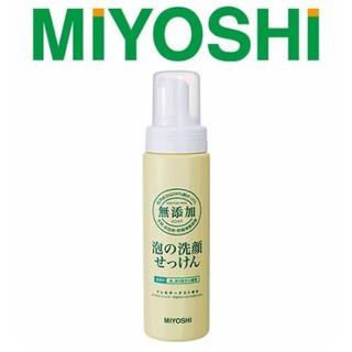 日本製 MIYOSHI 無添加 泡沫洗面乳 200ML 無添加洗面乳 MIYOSHI洗面乳 洗面乳 120019 新北市