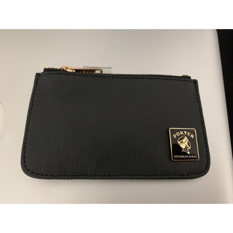 PORTER 零錢包 (黑) 全新未使用