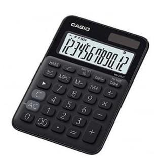 【奇異SHOPS】CASIO 時尚甜美 蜜黑糖馬卡龍計算機 12位數 利潤率計算 稅金計算 MS-20UC BK 桃園市