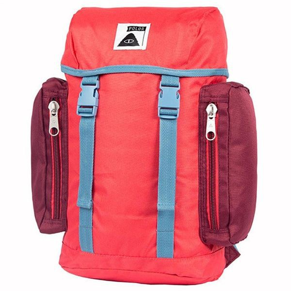 POLER Mini Rucksack 復古小型後背包(書包) - 紅色