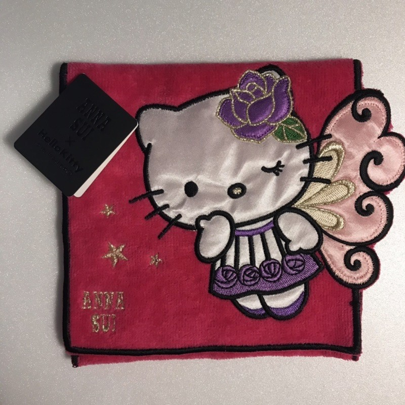 Anna SUI xHello kitty 毛巾小袋