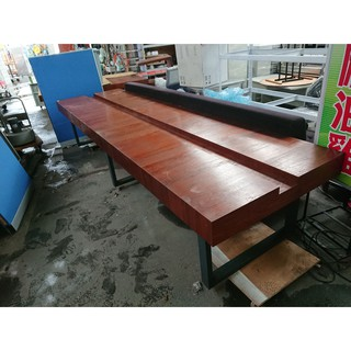 [龍宗清] 大型木餐桌(會議桌) (19072902-0010)四方木餐桌 會客桌 等候桌 四方餐桌 方型桌 臺南市
