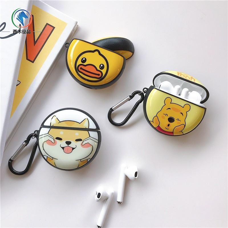 現貨 Airpods可愛 柴犬 卡通耳機套 Airpods pro 3代 蘋果 藍牙耳機保護套 矽膠 防摔 保護殼
