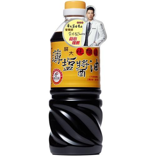 屏大 薄鹽醬油(710ml)[大買家]