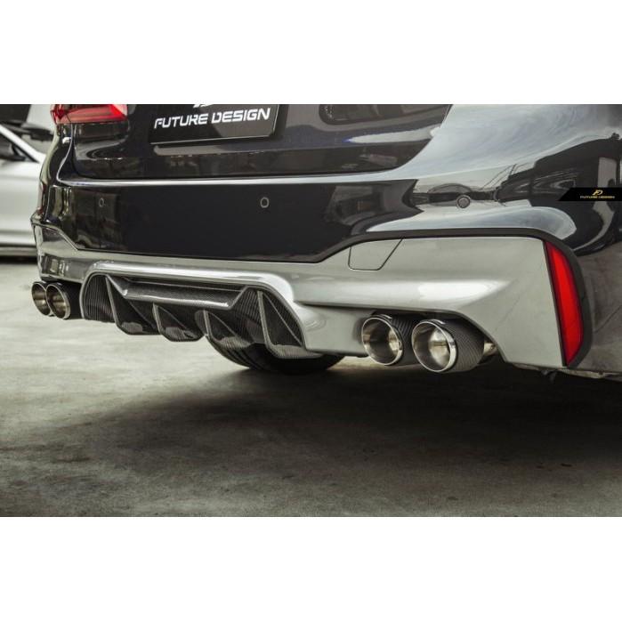 【政銓企業】BMW F90 M5 專用 MP式樣 高品質 乾碳 卡夢 後下巴 正碳纖維 現貨 G30 M包適用