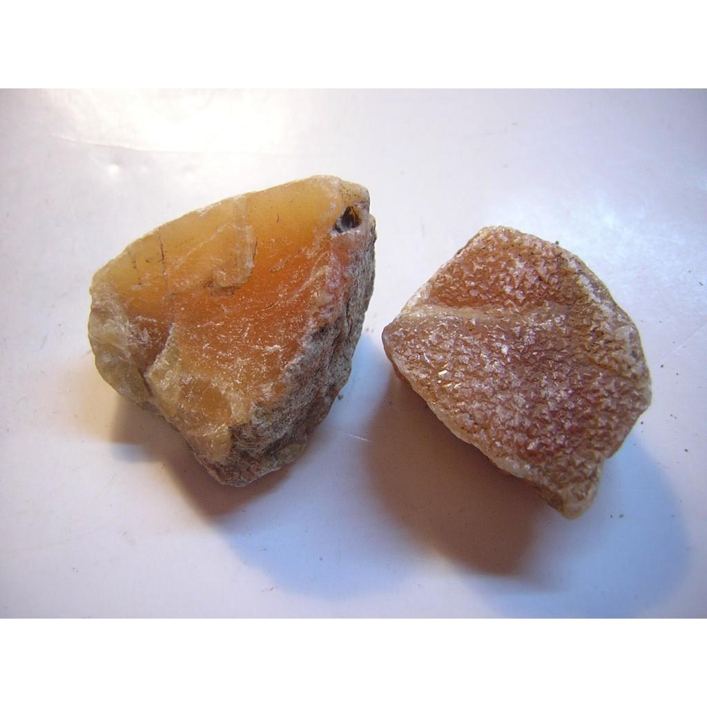 【采鑫坊】金田黃原礦石~二顆合計25.3g《直購品》~