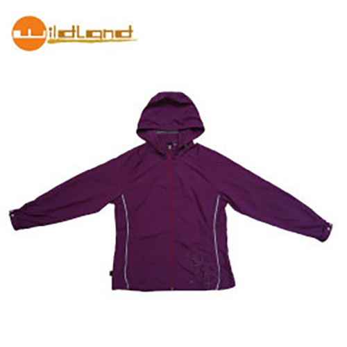 【Wildland】71913-29  女透氣抗UV輕薄外套 紫羅蘭色