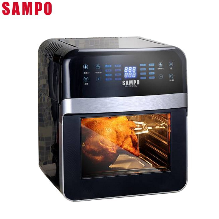 SAMPO聲寶12L智能氣炸烤箱KZ-L19123BL (免運)