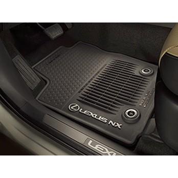 ㊣USA Gossip㊣ Lexus 原廠 NX300 NX200 防水腳踏墊 腳踏板