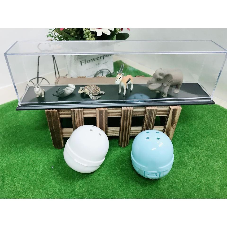 長型 扭蛋專用展示成列收藏盒 (戽斗星球,戰鬥陀螺,尋找威利,蠟筆小新,SD鋼彈)