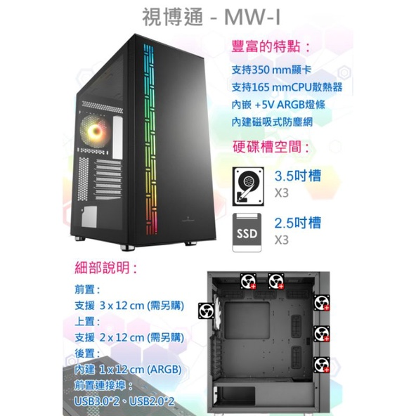 i5-11400 電腦主機  有內顯 文書機 礦渣